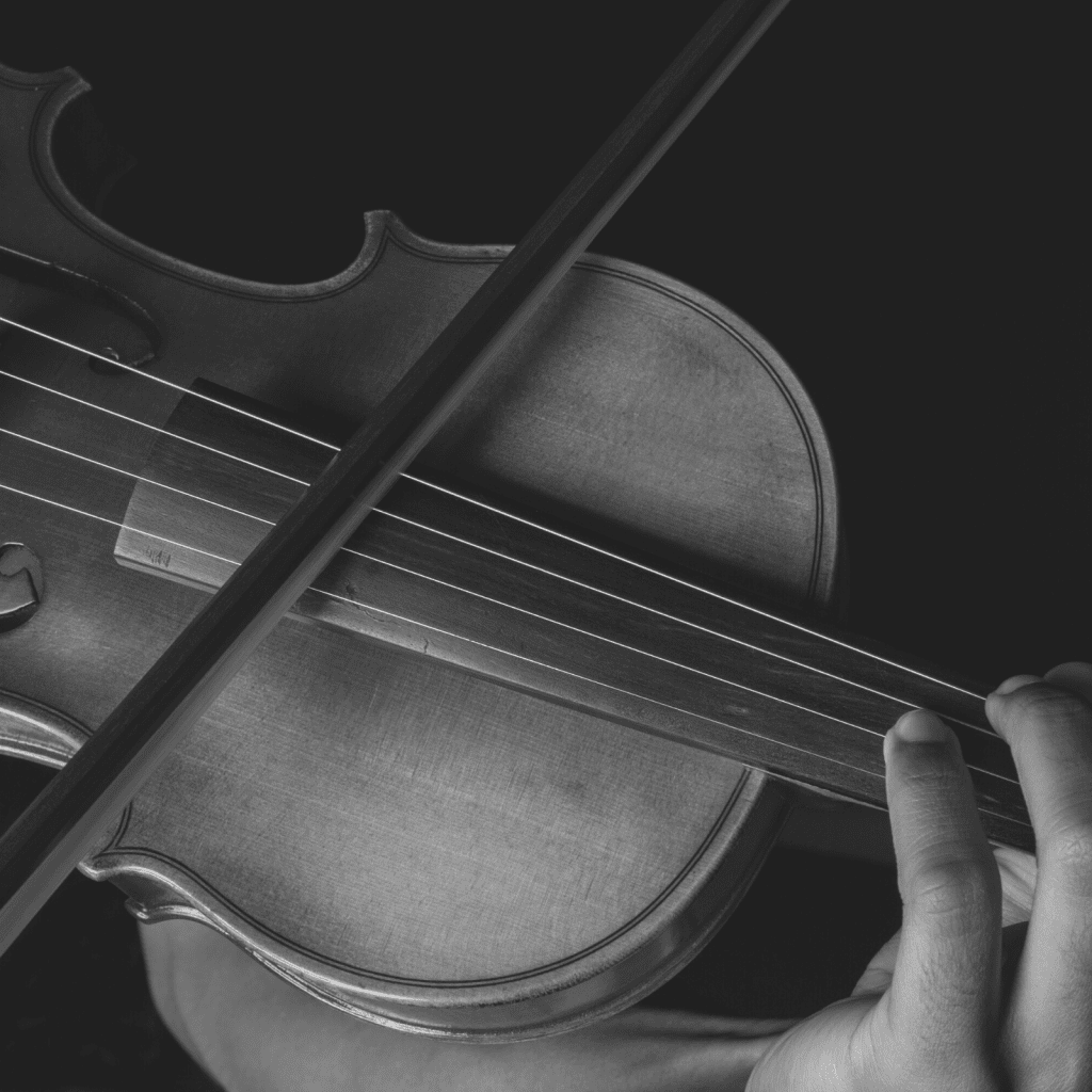 Learn to play the Violin online or in-store at Derosa Music