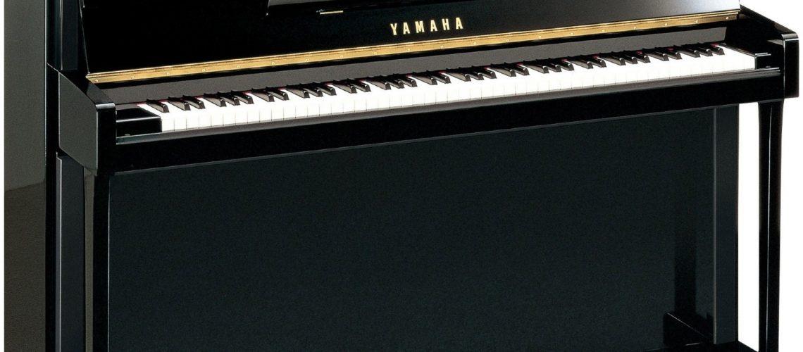 Yamaha B2 SC2 Silent piano in polished ebony