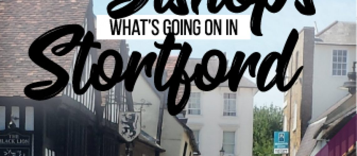 What's going on in Bishop's Stortford